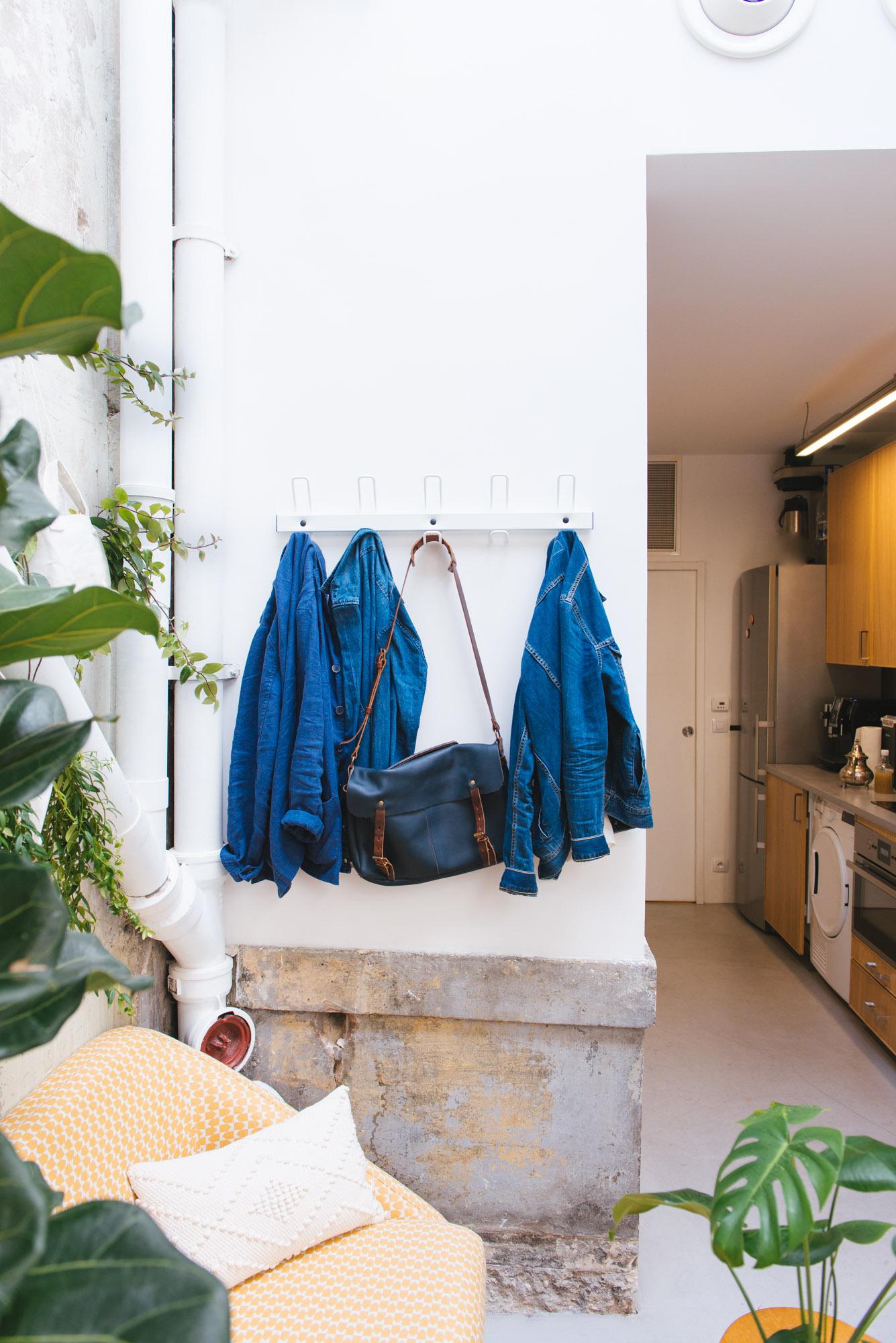 bleu de travail bienfaits plantes décoration végétale végétalisation bureaux