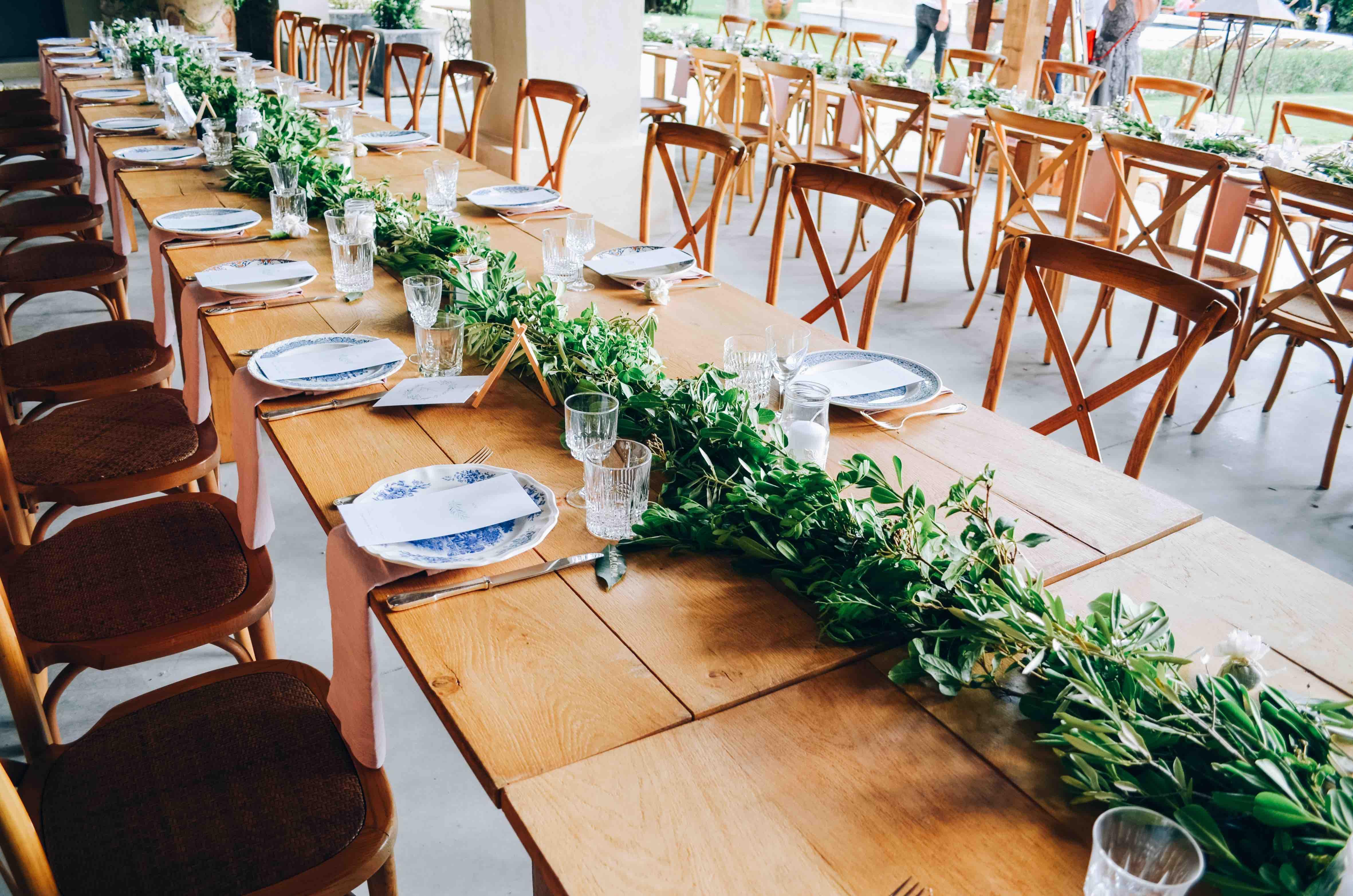 decoration végétale mariage sweet jungle